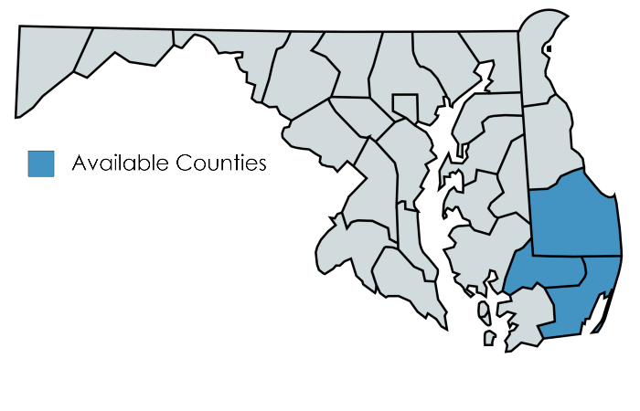 Where We Serve in Maryland and Delaware